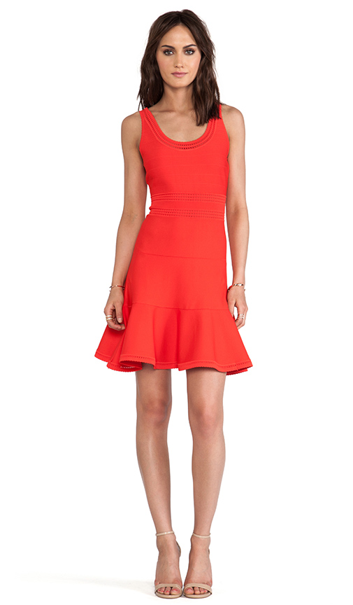 Diane von Furstenberg Perry Dress in Red