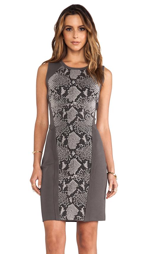 Diane von Furstenberg Franca Dress in Gray