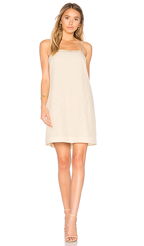 Elizabeth and James Mariella A Line Dress in Cream