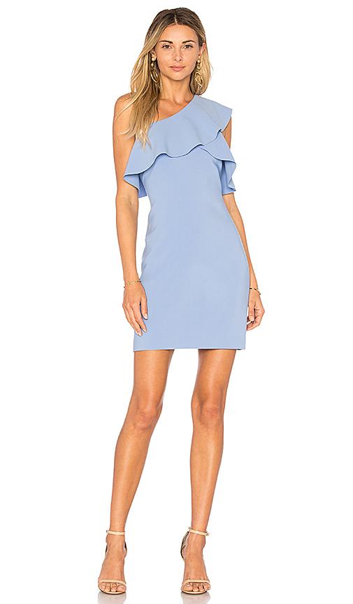 Elizabeth and James Jerard One Shoulder Dress in Blue. - size 2 (also in 4,8)