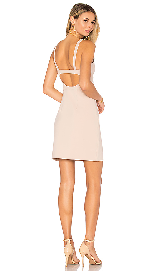 Elizabeth and James Huette Buckle Back Dress in Blush