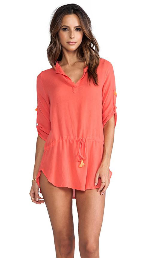 eberjey Parker Dress in Orange