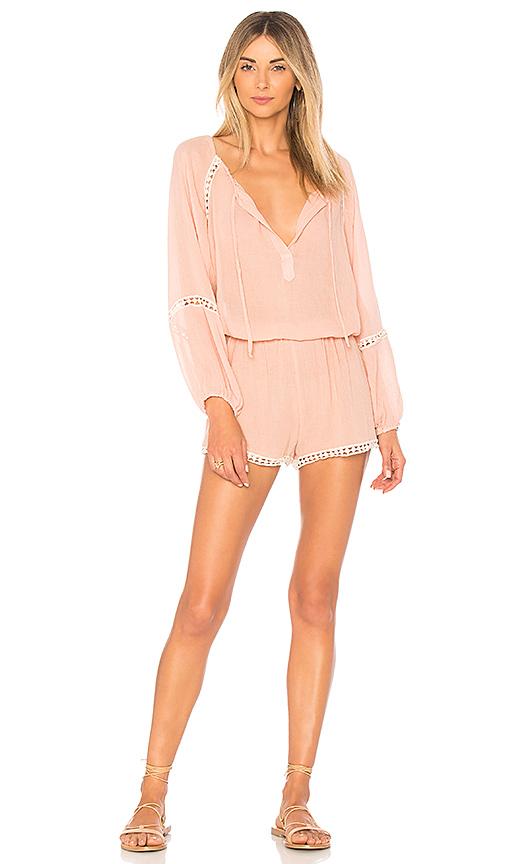 eberjey Summer Of Love Romper in Pink