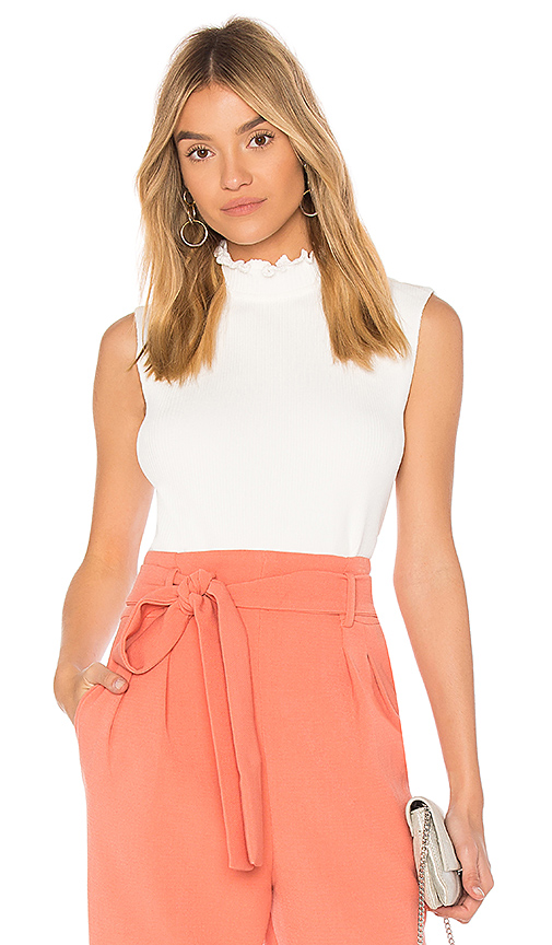 EGREY Collar Top in Ivory