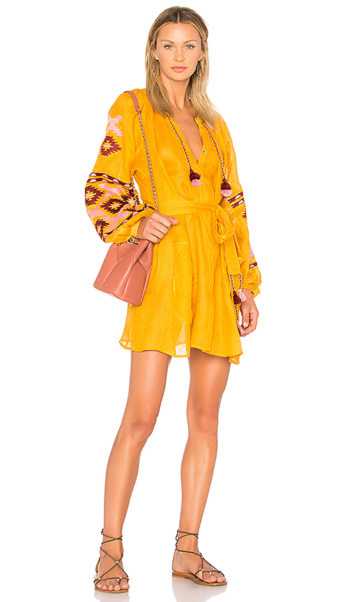 Eleven by March 11 Istanbul Dress in Yellow