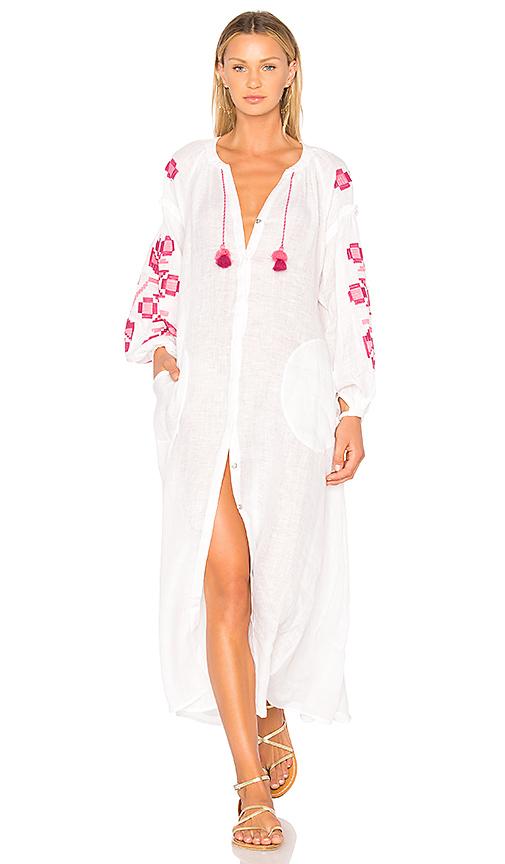 Eleven by March 11 Zarina Maxi Dress in White