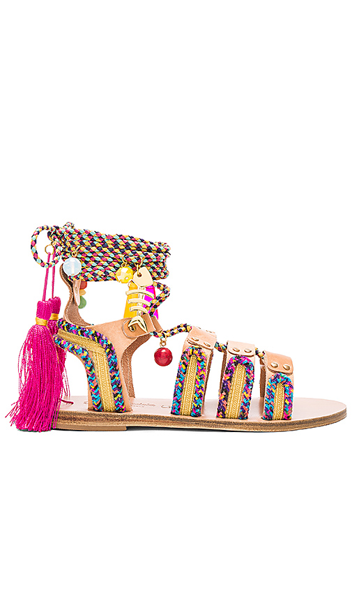 Elina Linardaki Pisces Sandal in Beige