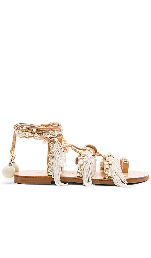 Elina Linardaki Ever After Sandal in White