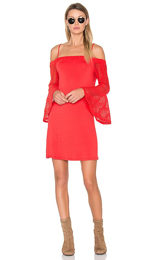 Ella Moss Annalia Dress in Red
