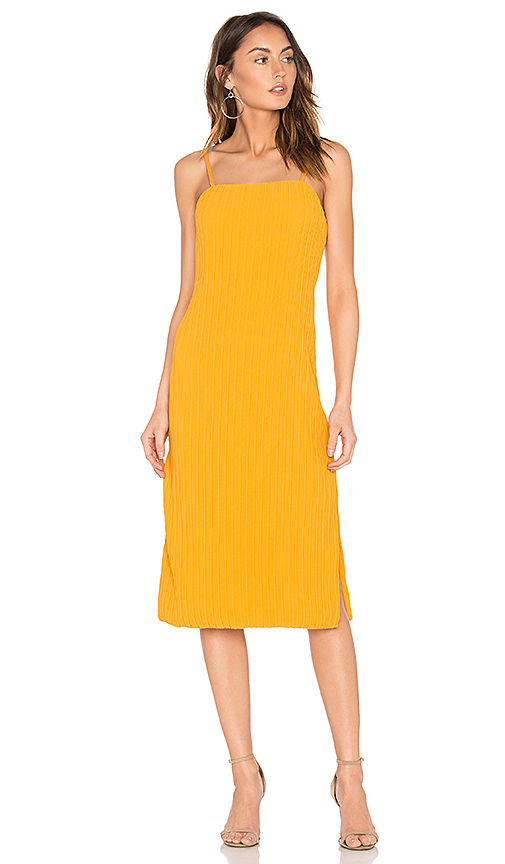 ELLIATT Rise Dress in Yellow