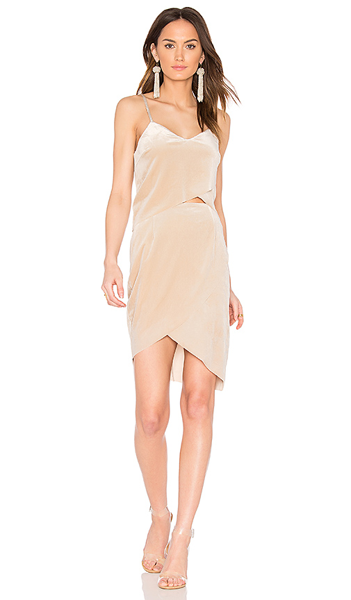 ELLIATT Thrill Tulip Dress in Cream