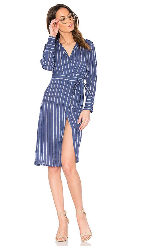 ELLIATT Bliss Shirt Dress in Blue