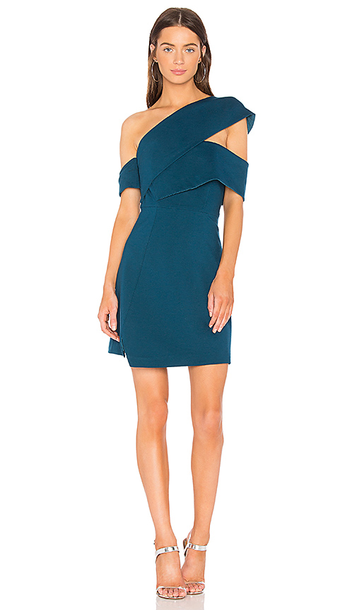 ELLIATT Chroma Dress in Teal