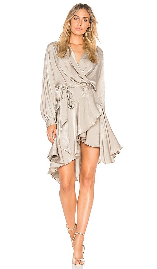 ELLIATT Matinee Dress in Taupe