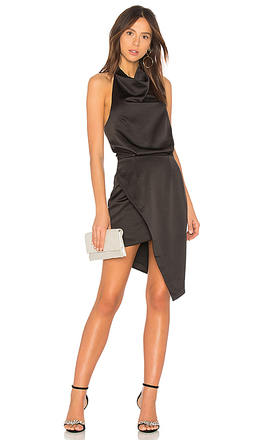 ELLIATT x Revolve Camo Dress in Black