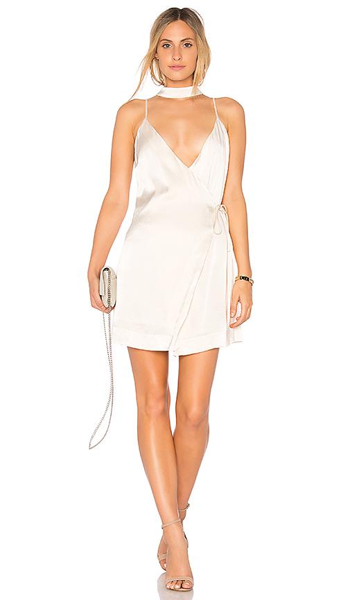 Endless Rose Satin Slip Dress in Cream