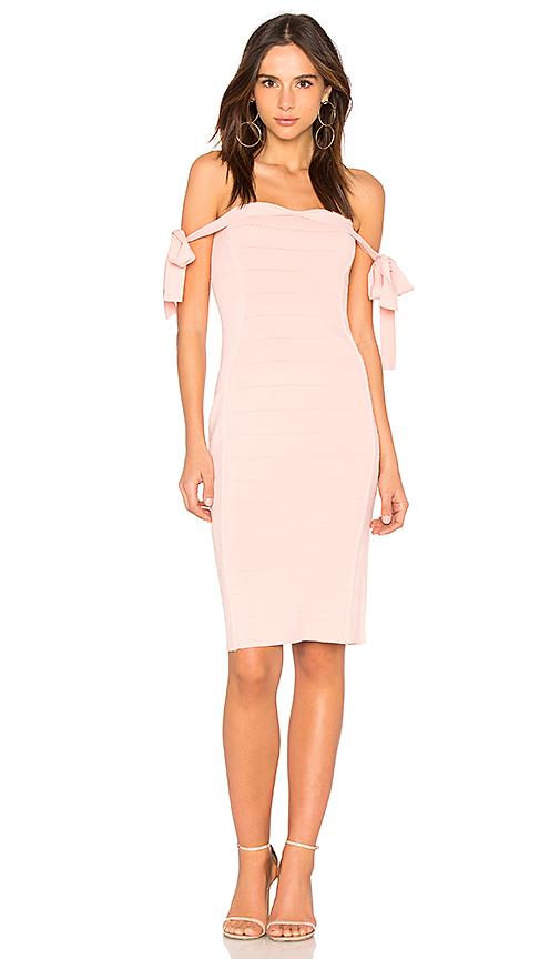 Endless Rose Off the Shoulder Dress in Pink