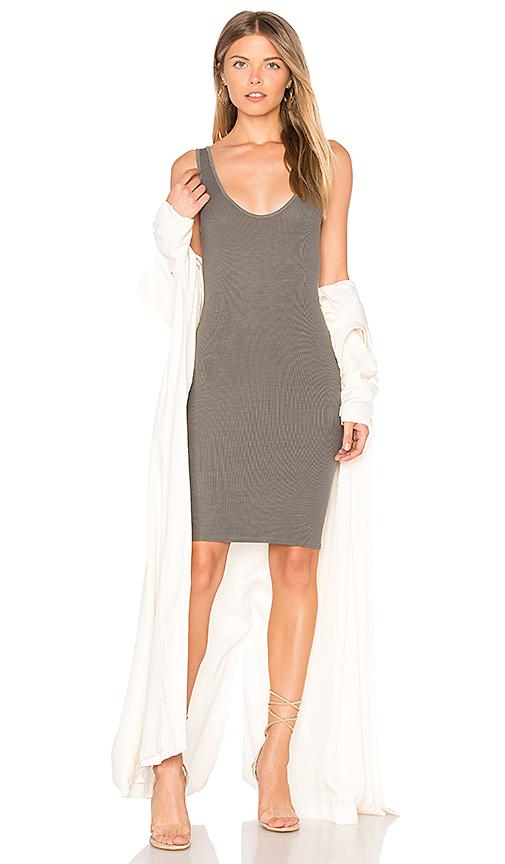 Enza Costa X REVOLVE Rib Tank Mini Dress in Sage