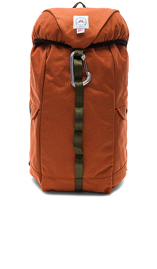 Epperson Mountaineering Climb Pack in Rust.