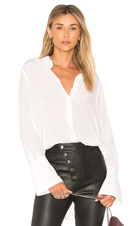 Equipment Rossi Top in White