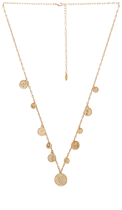 Ettika Necklace in Metallic Gold Q9fSP2