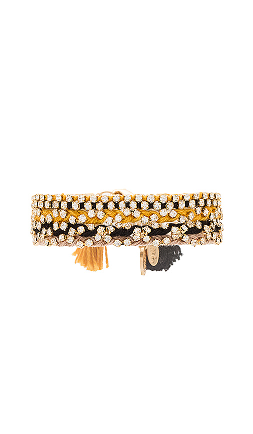 Ettika Beaded Bracelet in Black
