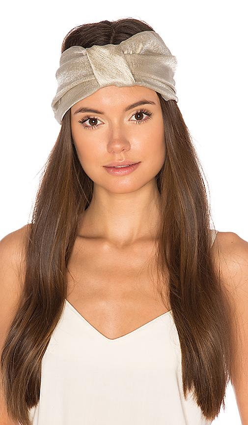 Eugenia Kim Natalia Headband in Beige.