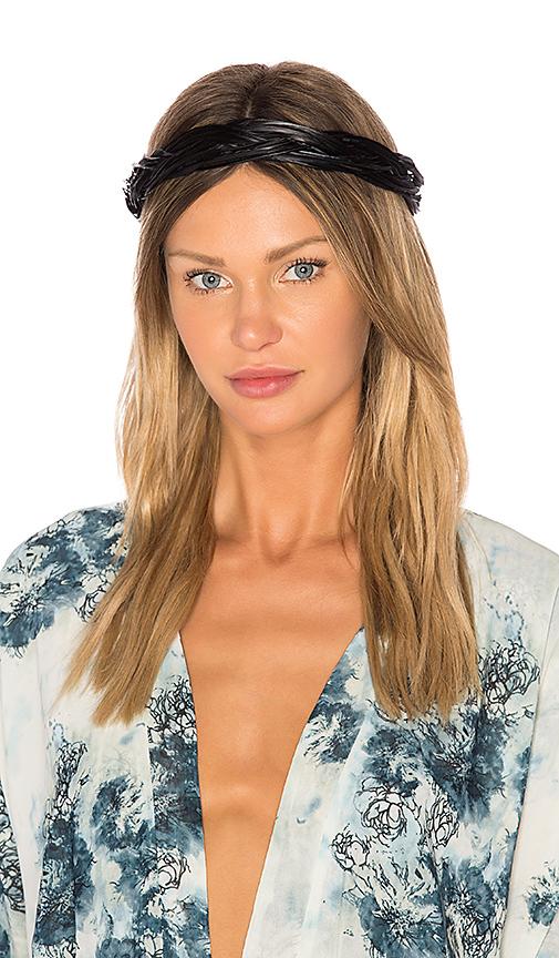 Eugenia Kim Giana Headband in Black.