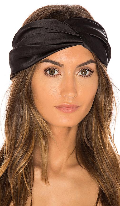 Eugenia Kim Malia Headband in Black.