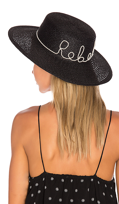Eugenia Kim Colette Rebel Hat in Black