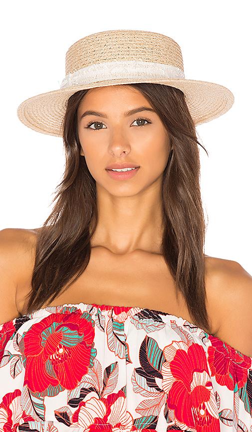 Eugenia Kim Brigitte Hat in Tan