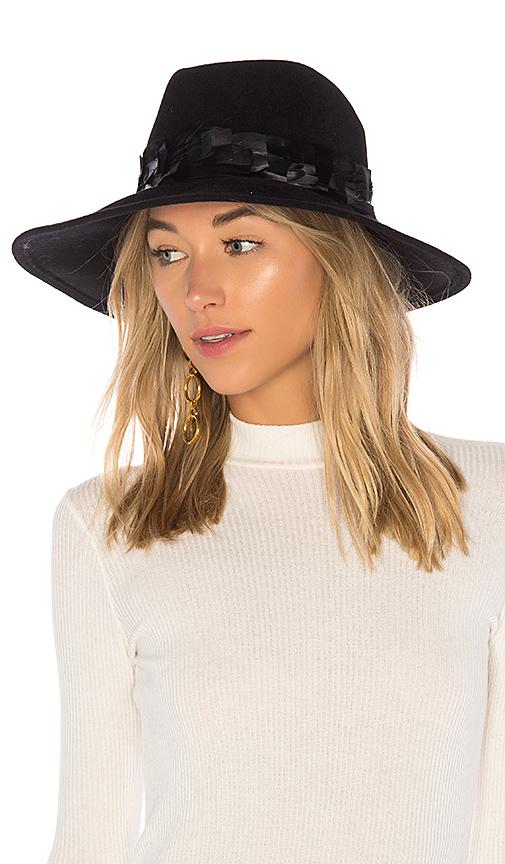 Eugenia Kim Emmanuelle Hat in Black