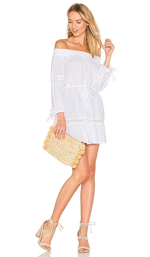 FAITHFULL THE BRAND Milos Dress in White