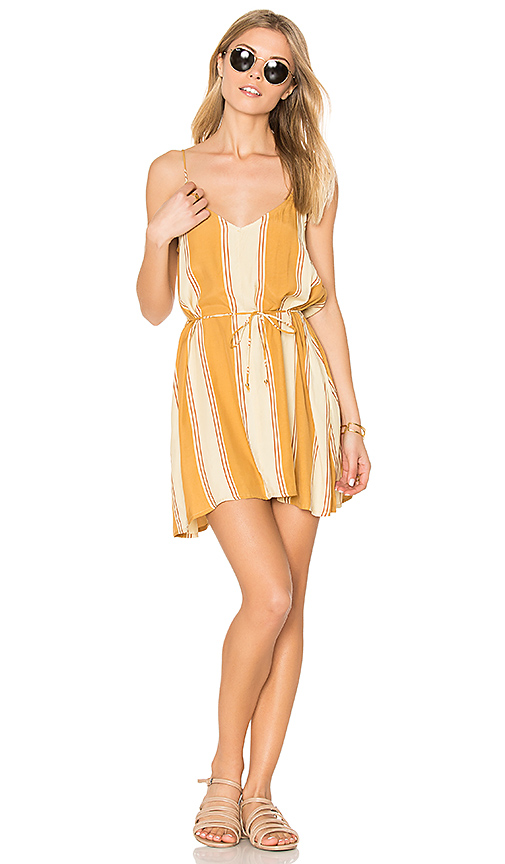 FAITHFULL THE BRAND Isola Dress in Tan. - size L (also in M)
