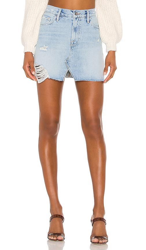 Frame Skirts FRAME LE MINI SPLIT FRONT SKIRT.