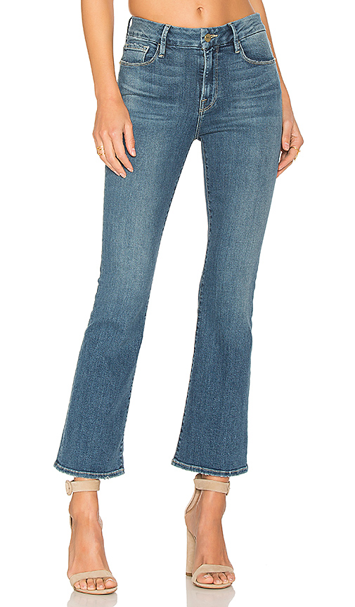 FRAME Denim Le Crop Mini Boot. - size 27 (also in 28)