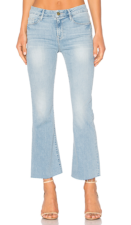 FRAME Denim Le Crop Mini Boot. - size 25 (also in 26,27,28,29)