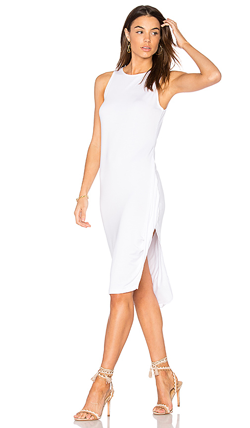 Feel the Piece Topaz Midi Dress in White