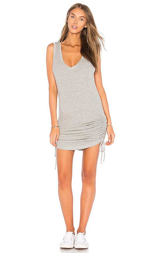Feel the Piece Beverly Tank Dress in Gray