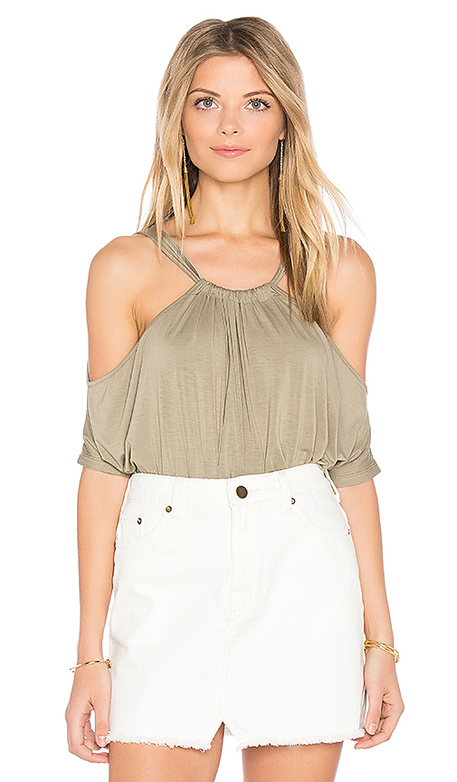 Feel the Piece Connor Top in Army
