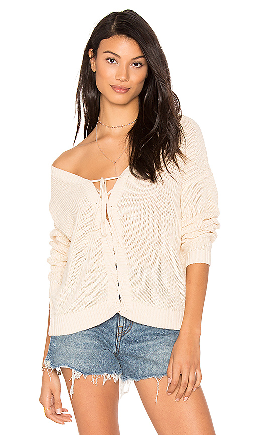 Feel the Piece Doral Blouse in Beige