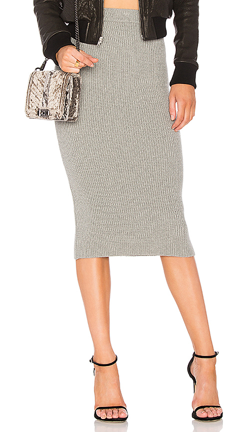 The Fifth Label Galactic Skirt in Gray. - size L (also in M,S,XS)