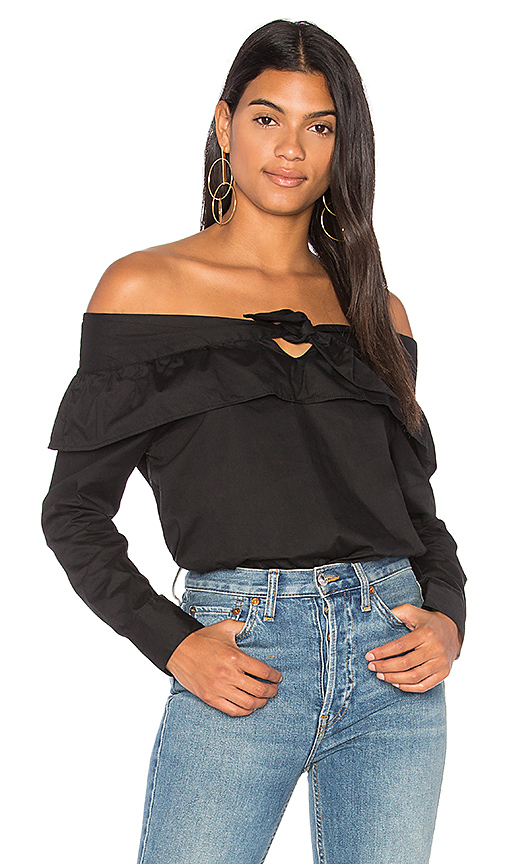 The Fifth Label Paper Planes Top in Black