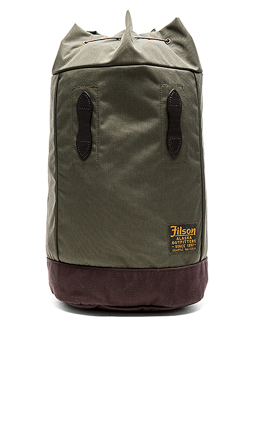 Filson Small Pack in Army.