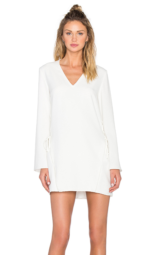 Finders Keepers Fly Away Dress in White