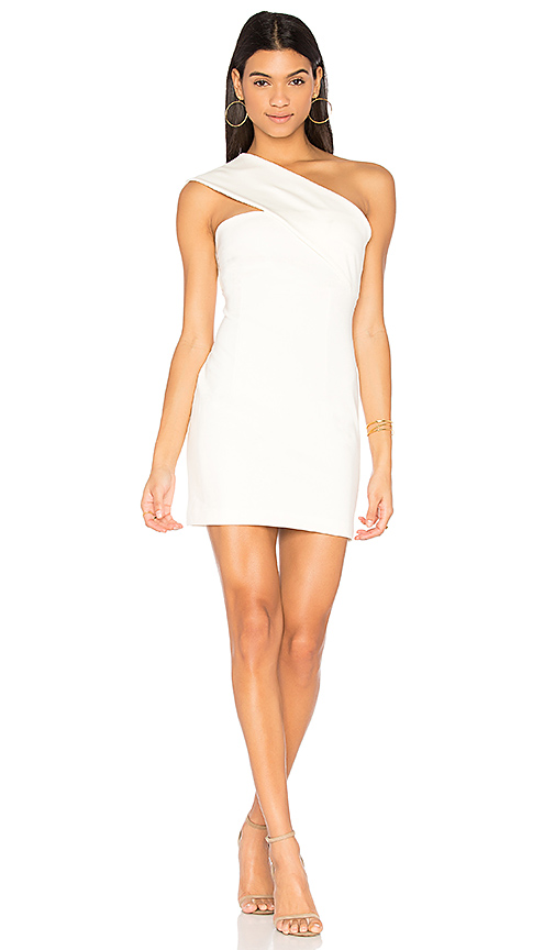 Finders Keepers Aston Dress in Ivory