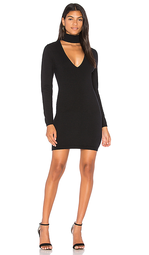 Finders Keepers Ride Knit Dress in Black
