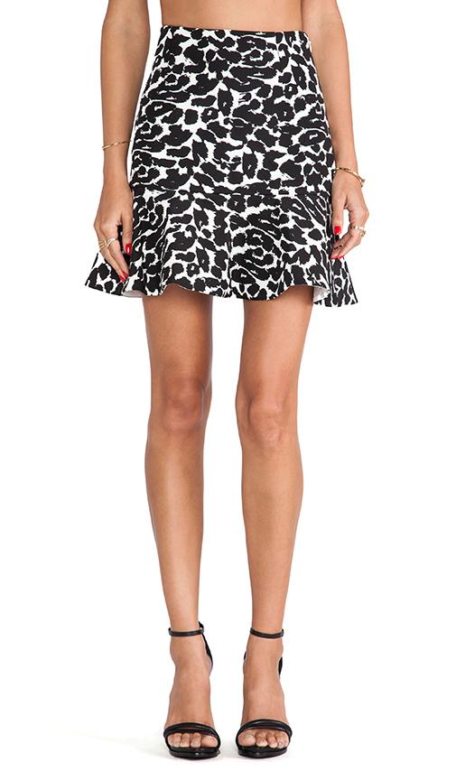Finders Keepers Like Smoke Mini Skirt in Black