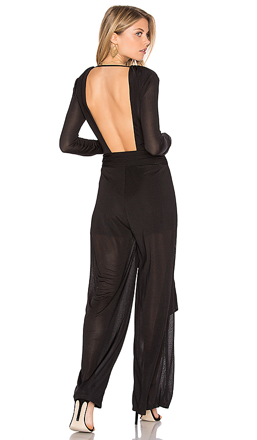 Finders Keepers Maxwell Jumpsuit in Black. - size L (also in M,S,XS, XXS)