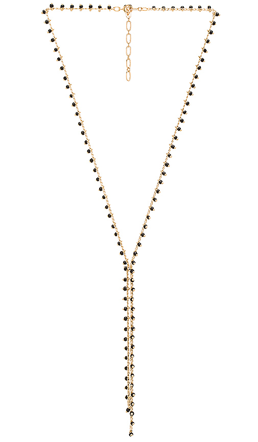 Five and Two Naomi Necklace in Metallic Gold vdtOlr3